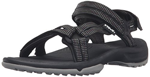 Teva W Terra Fi Lite, Scarpe da Arrampicata Donna, Nero (City Lights Black/Pastel Clbpcity Lights Black/Pastel Clbp), 39 EU