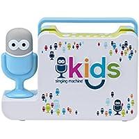 Singing Machine Kids smk480m portátil Bluetooth con altavoz con micrófono Guy Wired micrófono