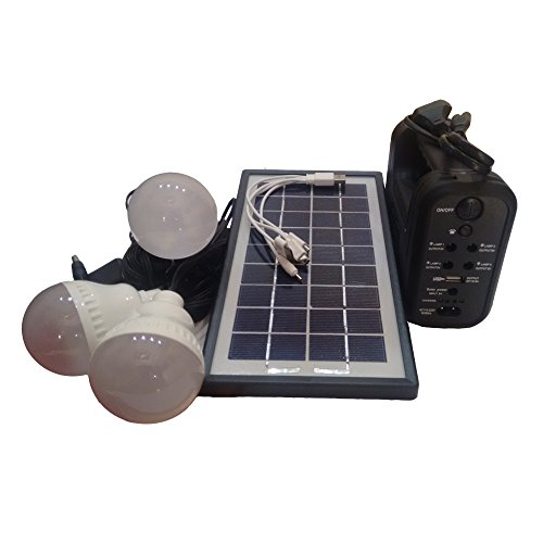 MTC GDlite GD-8017A Solar Home Lighting System with 3 Led Bulbs  available at amazon for Rs.1998