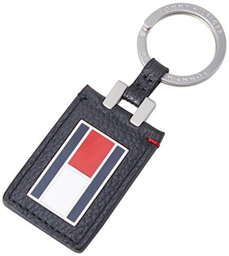 Tommy Hilfiger Herren Paolo Keyfob Schlüsselanhänger, Blau (Corporate 901 901), 4x11x1 cm