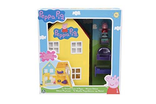 Giochi preziosi peppa pig la grande casa deluxe, multicolore, ppc38000