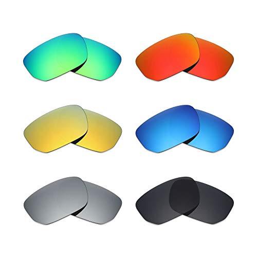 MRY 6Paar Polarisierte Ersatz Gläser für Oakley Style Switch Sonnenbrille