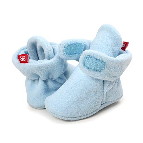 Sabe Zapatos Primeros Pasos Para Niño,Bebé Niño Infantil Nieve Botas Zapatos Cuna Prewalker 0-18...