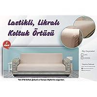 Latuda Concept 3+3 Likralı Lastikli Koltuk Örtüsü