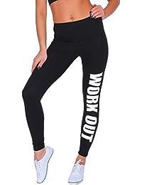 Futuro Fashion Sport Imprimé Longue Coton Active Legging Jogging Gym Fitness