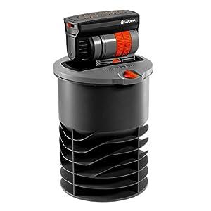 GARDENA Sprinklersystem Versenk-Viereckregner OS 140: Bewässerungssystem für quadratische und rechteckige Flächen bis max 140 qm, Reichweite bis 15 m, ebenerdig montiertbar (8220-29)