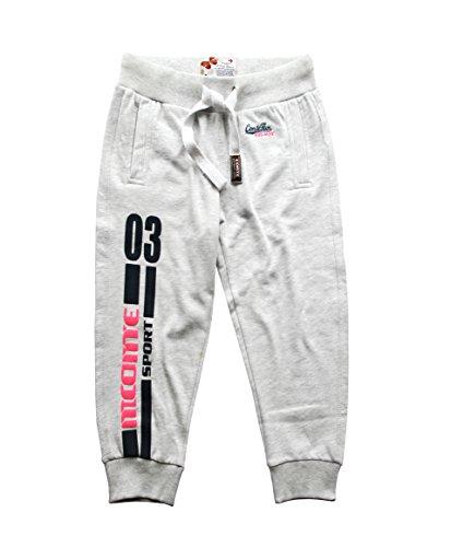 M.Conte Sporting Ladies Fitness Loisirs sweatpants couleurs Anthracite Noir Blanc S M L XL Nanni noir, anthracite, blanc melange Blanc