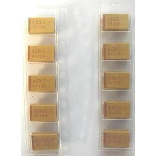 Avx 22Uf 16V Tantalum Smd Tajd226K016R 10%. Pack Of 10Pcs