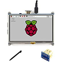 5 inch LCD 800*480 Resistive Touch Screen Display HDMI interface drivers provided For Raspberry pi3B+/3/2 B/B+/A
