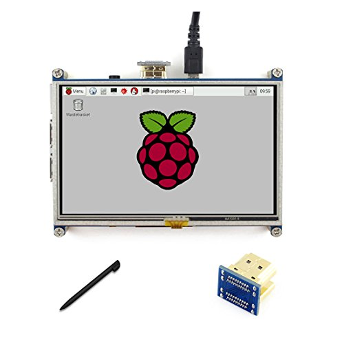 5 inch LCD 800*480 Resistive Touch Screen Display
