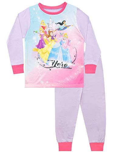 Disney Pijamas para niñas Princesas 4-5 Años