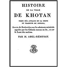 Histoire de la ville de Khotan