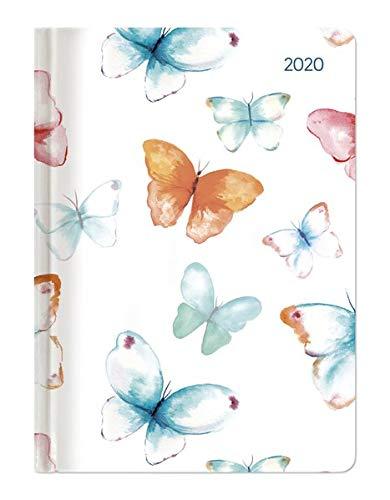 Agenda Settimanale 2020 Ladytimer Grande 'Pastello Butterflies' 15x21 cm