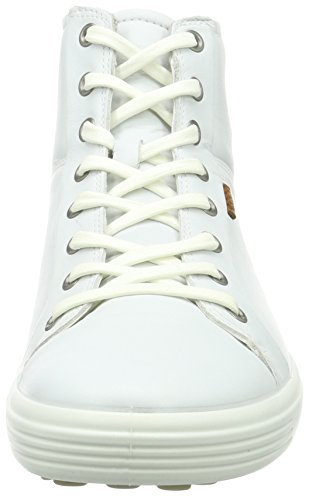 Ecco Soft 7 Ladies, Sneaker Alte Donna Bianco(White 1007)