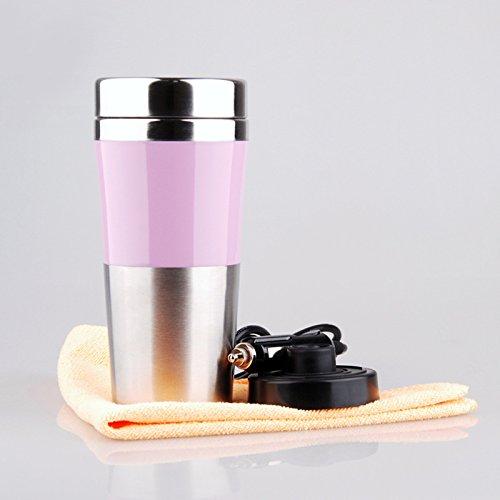 Innere Edelstahl Auto Tasse kochendem Wasser Tasse mit großer Kapazität Elektro-Auto heißen Tasse , 301-400ml