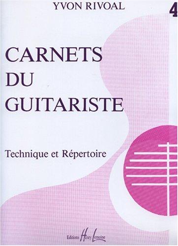 Carnets du guitariste Volume 4