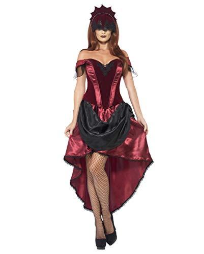 Horror-Shop Gothic Priesterin Kostüm (Priesterin Halloween Kostüme)