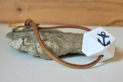 Anker Schlüsselanhänger bestempelt, Länge ca. 10 cm