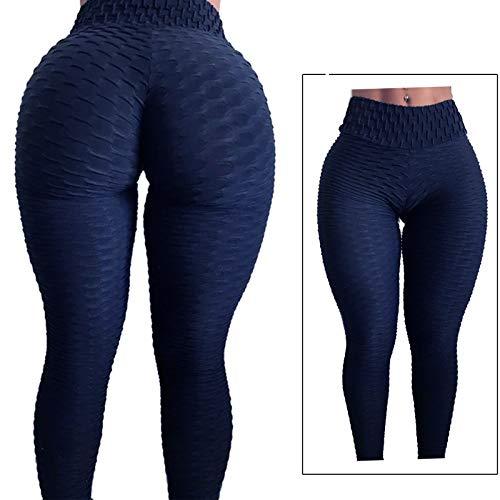 419etRJIe1L - FITTOO Mallas Pantalones Deportivos Leggings Mujer Yoga de Alta Cintura Elásticos y Transpirables para Yoga Running Fitness con Gran Elásticos1090
