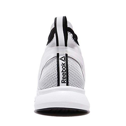 Reebok Pump Plus Cage, Chaussures de running entrainement homme Blanc (blanc / noir)