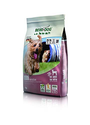 BEWI DOG Mini [3 kg] Hundefutter | Trockenfutter für kleine Hunderassen | ohne Weizen & Soja | 80{6b1668b052e2f4008b234461bc5f8e706aa9522efd5e94f11954be966f2343d0} tierisches Eiweiß | extra kleine Kroketten