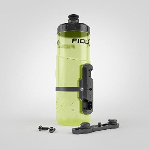 Fidlock Twist Bottle 600 incl. Mount Yellow 2019 Trinksystem -