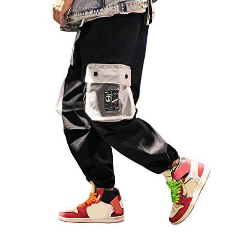 Irypulse Pantalones Carga Hombre Moda Callejera Urbana