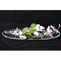 Phalaenopsis Glasschale -Orchideen, Tischgesteck,Tischdeko mit künstlichen Blumen