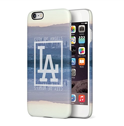 New York City Empire State Building Apple iPhone 6 / iPhone 6S SnapOn Hard Plastic Phone Protective Custodia Case Cover City Of Angels