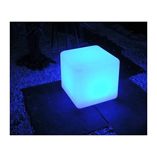 MUNDUS Solarwürfel Kanti, 30 cm, Weiß
