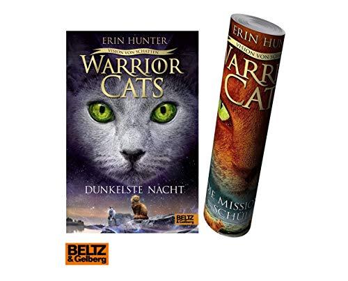 Warrior Cats - Vision von Schatten. Dunkelste Nacht (Staffel VI, Band 4) + 1. gratis Warrior Cats Poster by Collectix