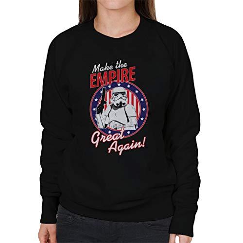 Original Stormtrooper Make The Empire Great Again Women's Sweatshirt Empire Womens Sweatshirt
