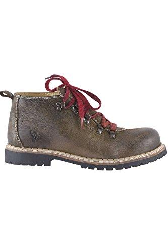 Spieth & Wensky Herren Trachten-Schuh rustikal Braun, Rustic, 46