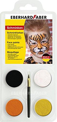 nkset Tiger, 1er Pack (1 x 6 Stück) ()