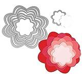 Sizzix Framelits Troqueles 7PK Las flores