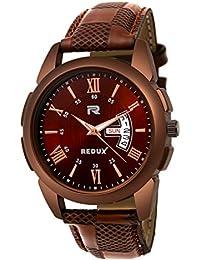 Redux Analogue Brown Dial Men's & Boy's Watch RWS0215S