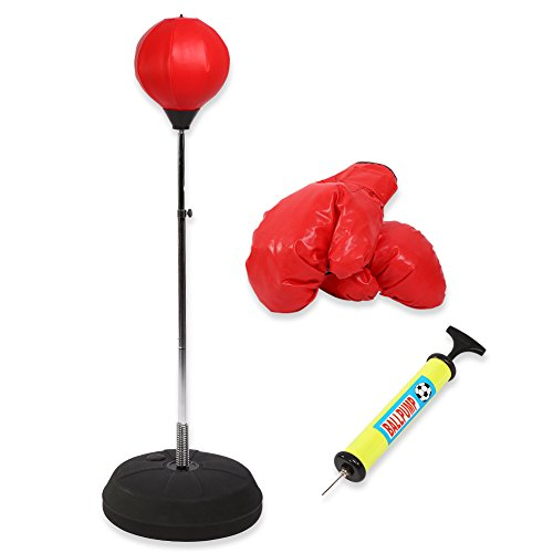 Punching Bag, altura ajustable pie bola velocidad