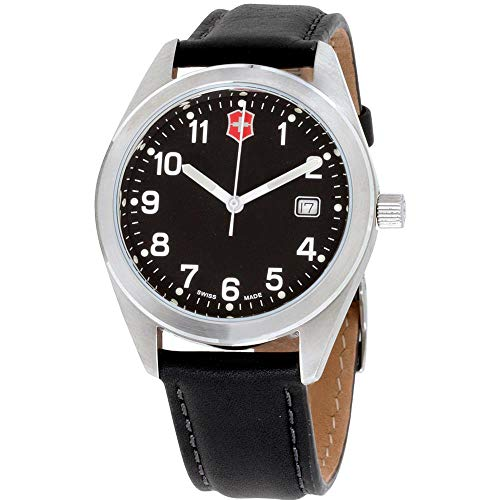 Victorinox Reloj de Hombre Cuarzo 40mm Correa de Cuero Caja de 26034.CB