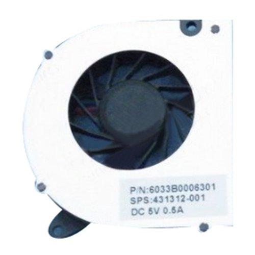 HP Compaq 6530S 6531S 6530B 6535S 6735s 6720 3-polig CPU Lüfter Kühlkörper -