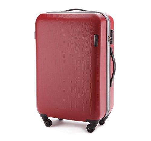 WITTCHEN Kofferset Trolley 20+24+28'', klein, mittel, groß, 27, 64, 94 L, Schwarz, ABS, Hartschale, 56-3-61S-10 Rot