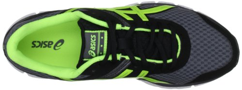 Asics - Gel Zaraca M, Sneaker Uomo Nero (Charcoal Grey / Yellow / Black)