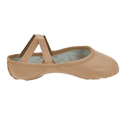 Bloch 210 Proflex tela Ballet Shoes Rose