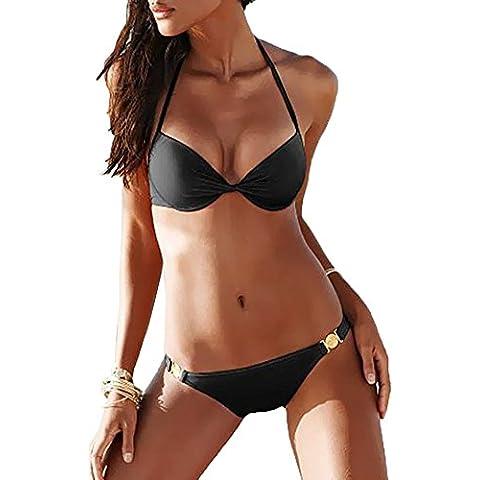 YARBAR Donne sexy spinge verso l'alto bikini imbottito Swimsuit Swimwear Bikini costume da bagno