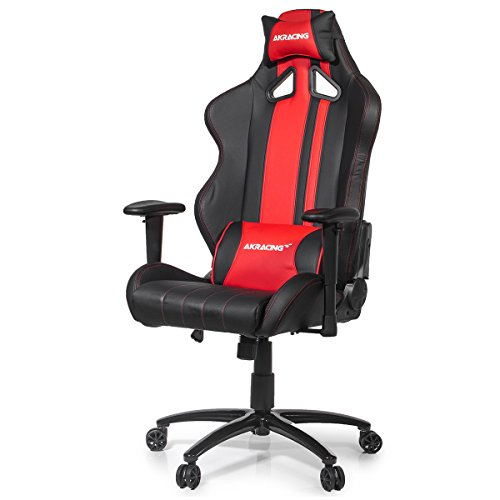 AK Racing Rush Gaming Stuhl rot, Kunstleder,...