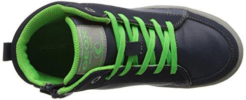 Geox Mania E - Sneaker, , taglia Multicolore  (Navy/Lime)