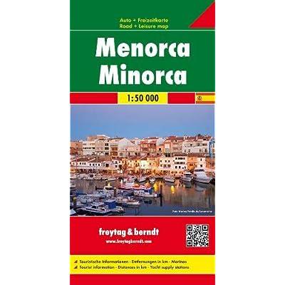 Minorca: Toeristische Wegenkaart 1:50 000
