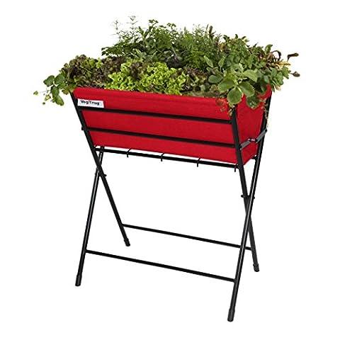 VegTrug POPKT013RD VegTrug Poppy with Red Felt Planter -