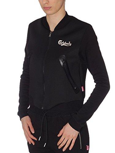 Carlsberg Damen Sweatshirt schwarz schwarz L