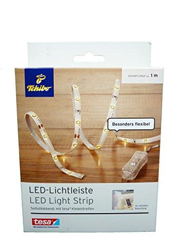 TCM Tchibo Lichtleiste Lichterkette Beleuchtung Licht weiß 1 Meter