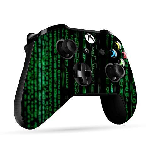 Xbox One S Wireless Controller Pro Konsole - Neueste Xbox Controller Blue-Tooth mit weichem Griff und exklusiver individueller Version Skin (Xbox- Code Writing) (Bluetooth-xbox-controller)